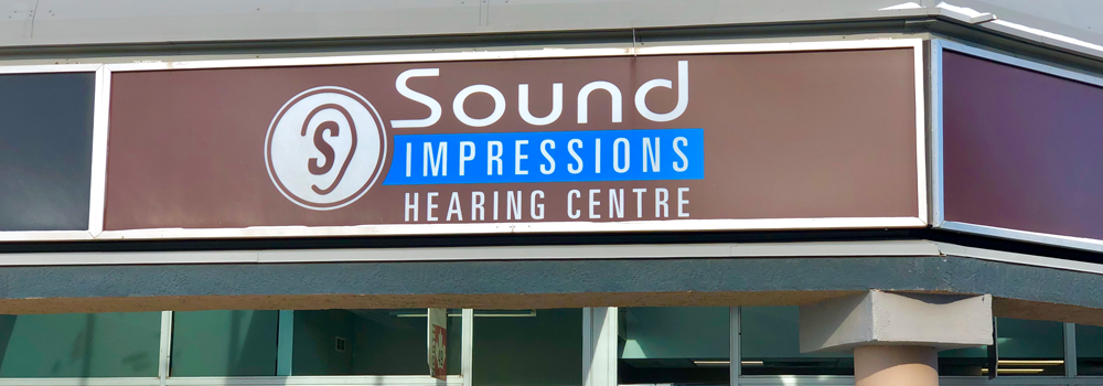 Outside view of Sound Impressions Hearing Centre in Saskatoon, Saskatchewan